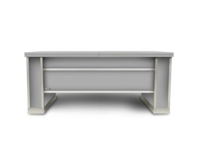mesa extensible y elevable de aluminio