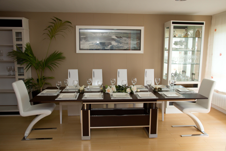 mesa extensible madera wengue