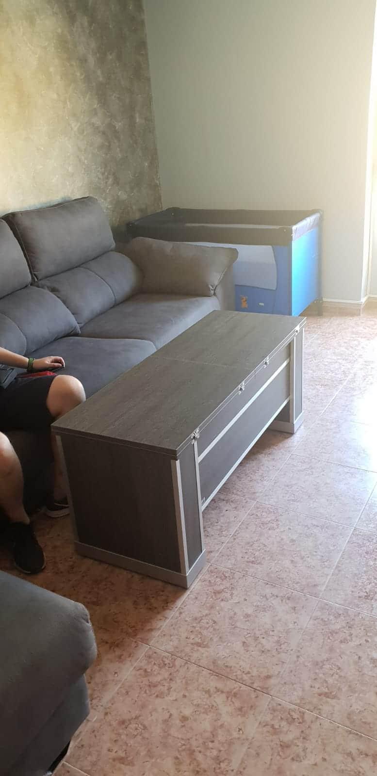 Mesa extensible y elevable