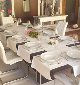 mesa comedor extensible altura ajustable