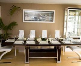 mesa comedor extensible grandes grupos