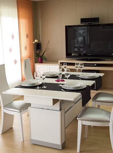 mesa comedor extensible ideal