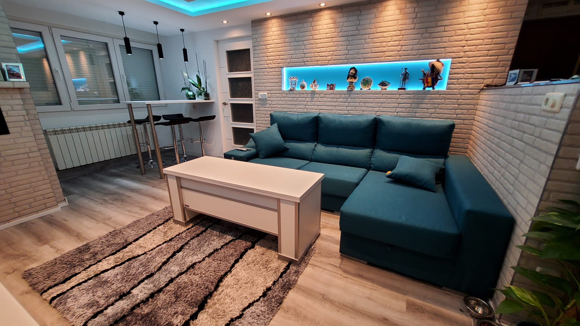 Mesa de salon extensible sevenone